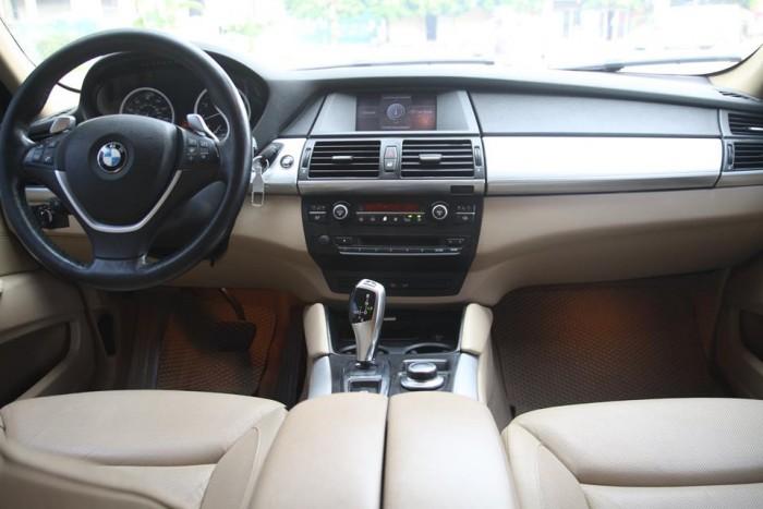 BMW X6 Model 2009. Màu đỏ nội thất kem đăng ký chính chủ cá nhân biển Hà Nội 9
