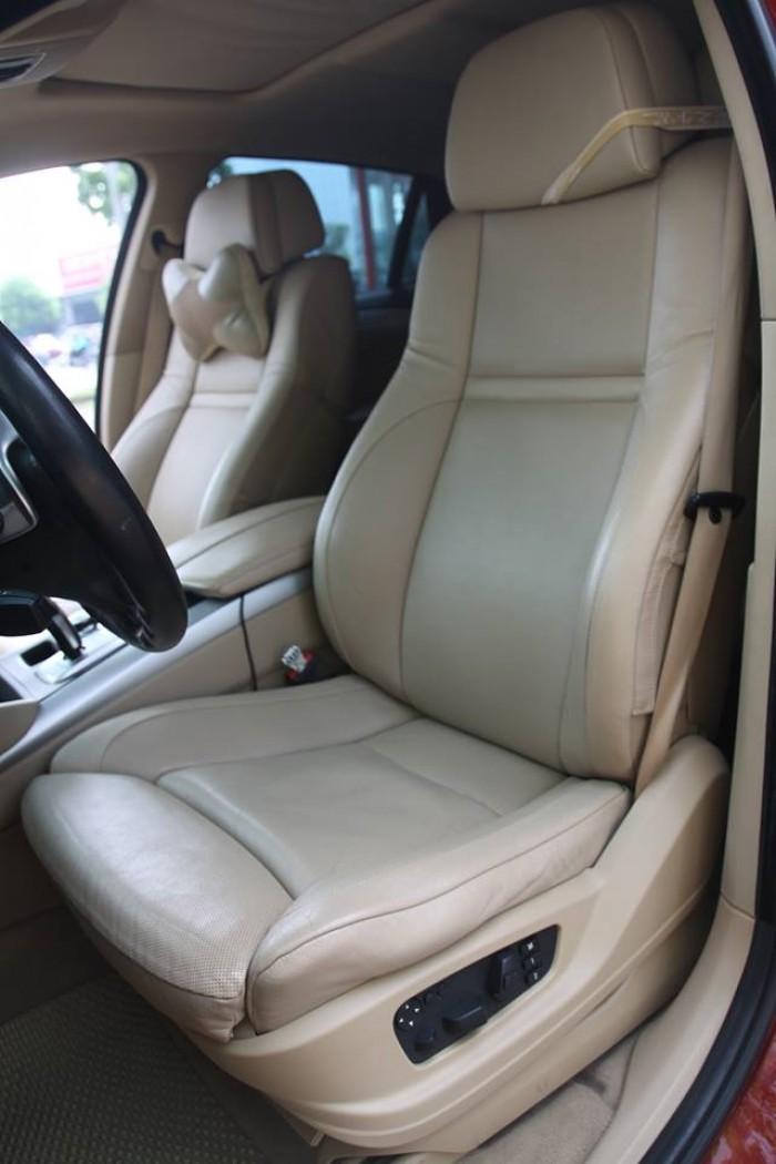 BMW X6 Model 2009. Màu đỏ nội thất kem đăng ký chính chủ cá nhân biển Hà Nội 11