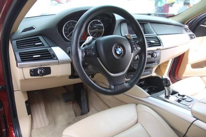 BMW X6 Model 2009. Màu đỏ nội thất kem đăng ký chính chủ cá nhân biển Hà Nội 12