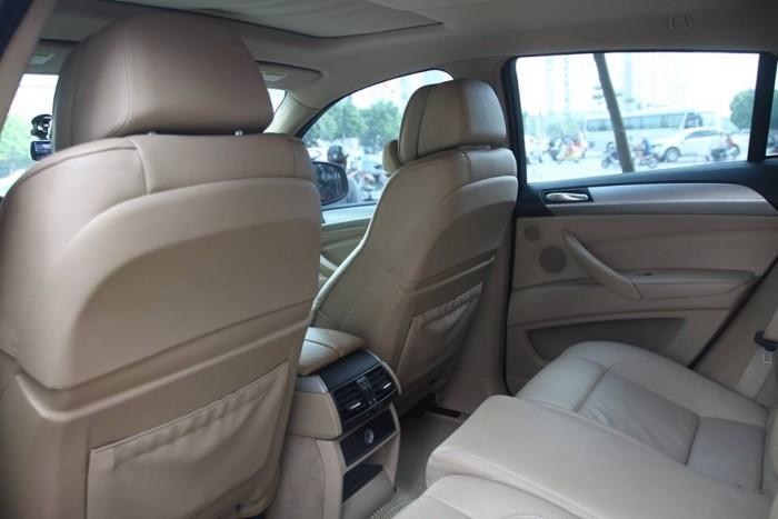 BMW X6 Model 2009. Màu đỏ nội thất kem đăng ký chính chủ cá nhân biển Hà Nội 14