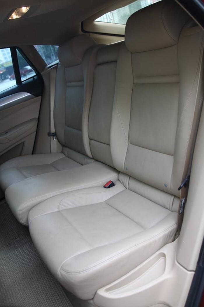 BMW X6 Model 2009. Màu đỏ nội thất kem đăng ký chính chủ cá nhân biển Hà Nội 16