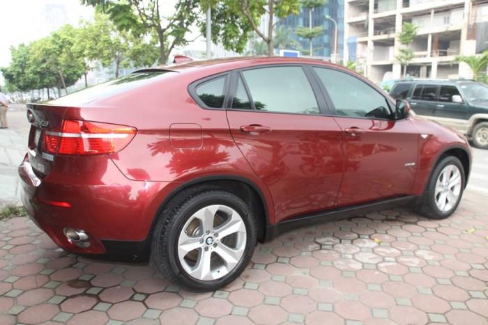 BMW X6 Model 2009. Màu đỏ nội thất kem đăng ký chính chủ cá nhân biển Hà Nội 15