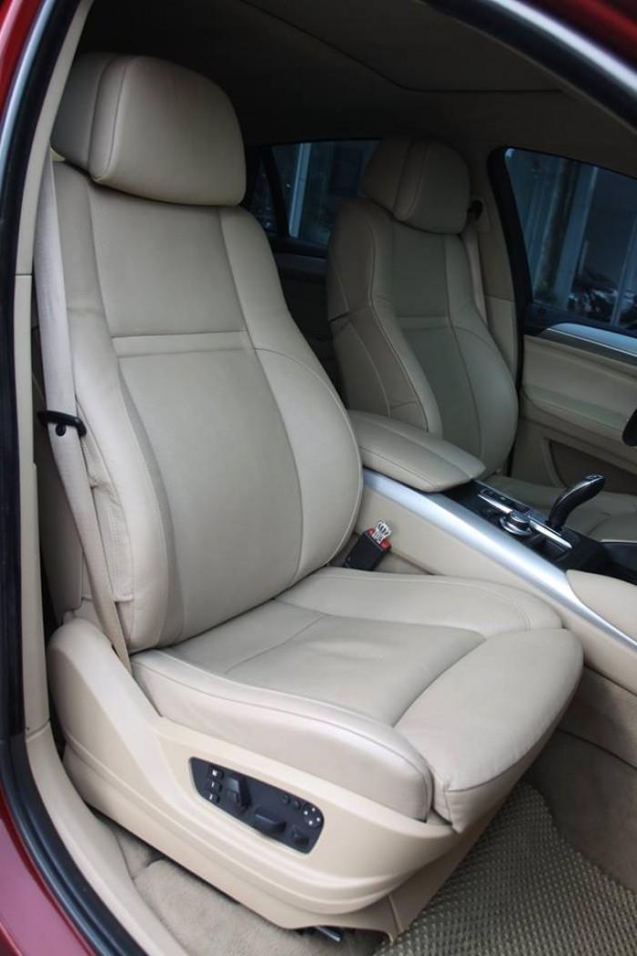 BMW X6 Model 2009. Màu đỏ nội thất kem đăng ký chính chủ cá nhân biển Hà Nội 17