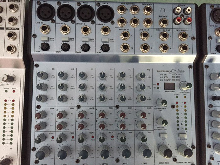 Mixer karaok1