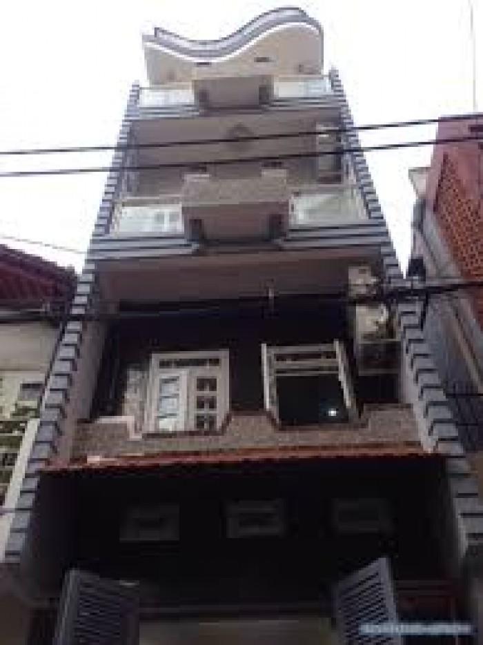 Bán nhà MT Lê Anh Xuân, P. Bến Thành, Quận 1, DT5x16m, 3 lầu