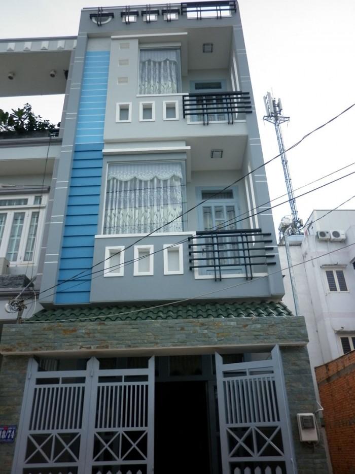 Bán nhà MT đường Nguyễn Thông, Quận 3. DT6x26m