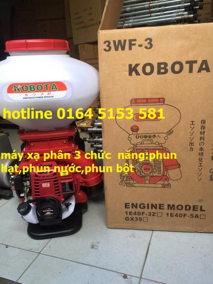Máy phun vôi 3 chức năng KCT phun thuốc trừ sâu,phun xạ lúa ngô,phun thổi lá2