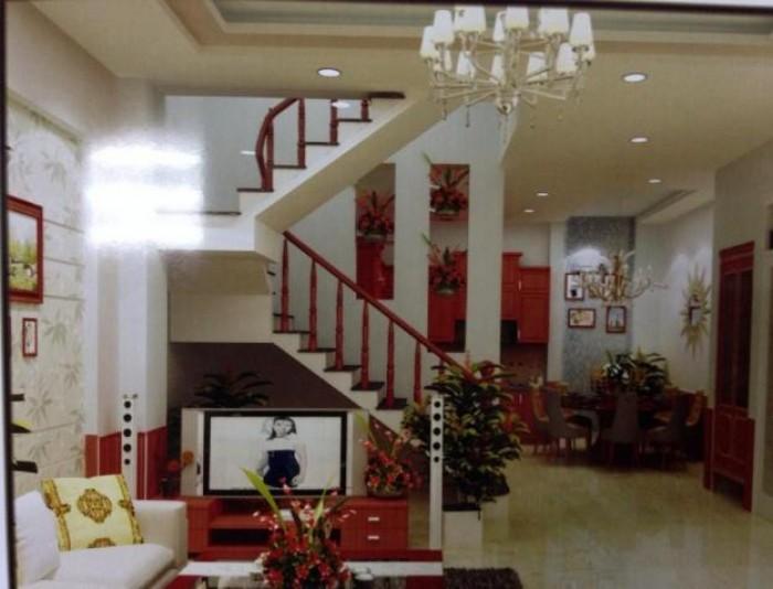 Bán nhà MT Trần Nhân Tôn, Q10, DT 8x16m, nhà 4 lầu kiên cố