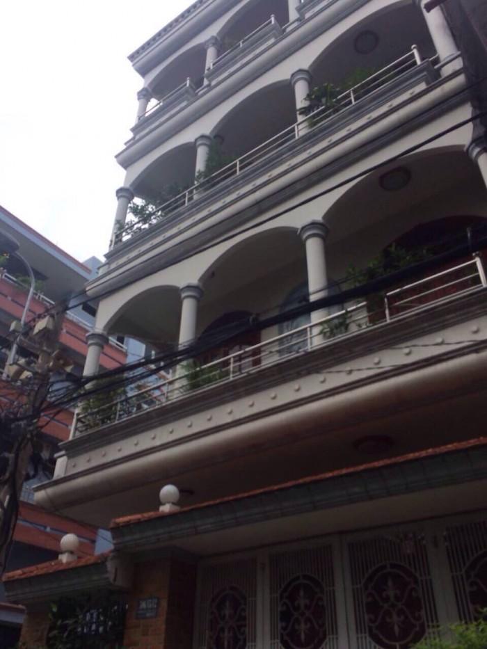 Bán nhà MT Trần Nhân Tôn, Q10, DT: 10x31m, Nở hậu