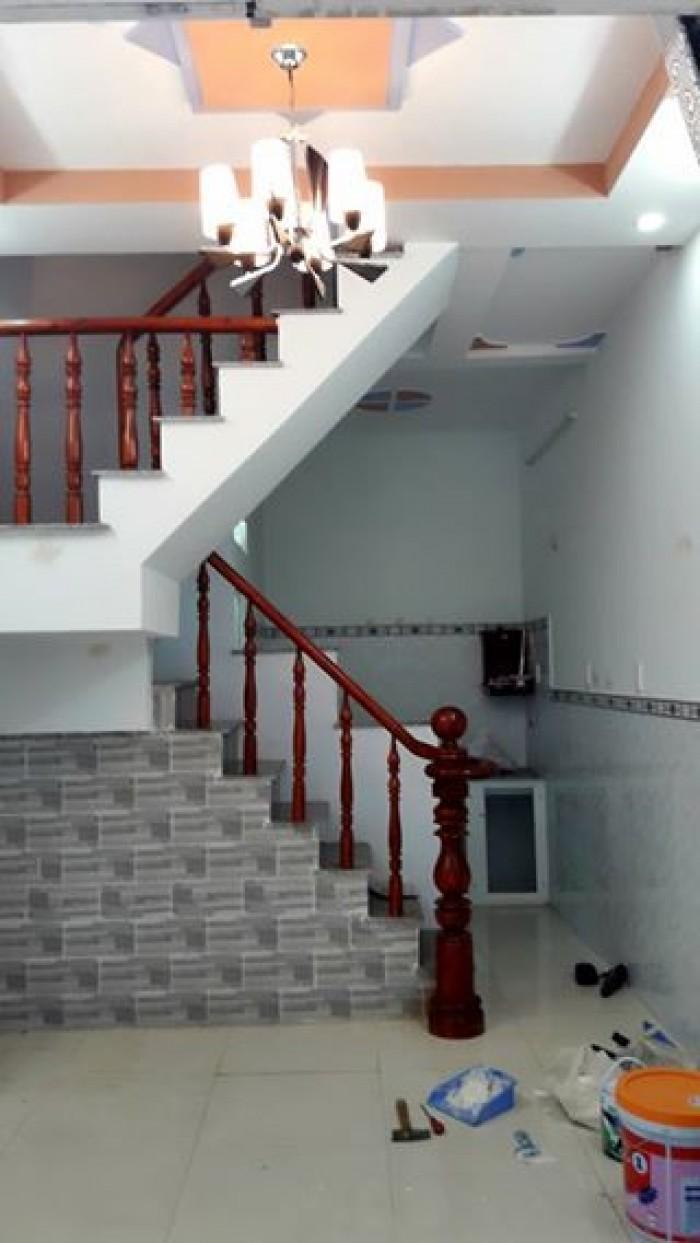 Bán nhà xây 1 lầu, 2 phòng ngủ, 2 toilet,  đường TA15, Thới an, Q12