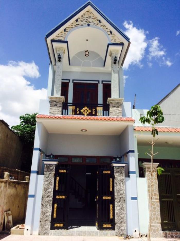 Nhà Phố Ven Sài Gòn Cho Các Hộ Thu Nhập 8-9tr/ Tháng