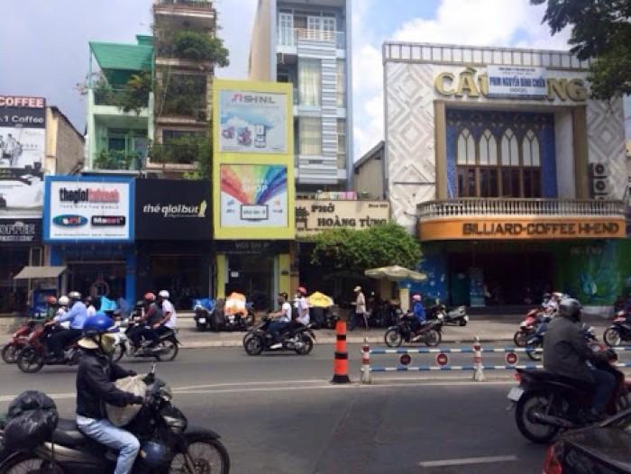 Bán nhà Mặt Tiền đường Điện Biên Phủ - Hai Bà Trưng, P.6, Q. 3, 4x27m, trệt, 6 lầu, đúc đẹp.
