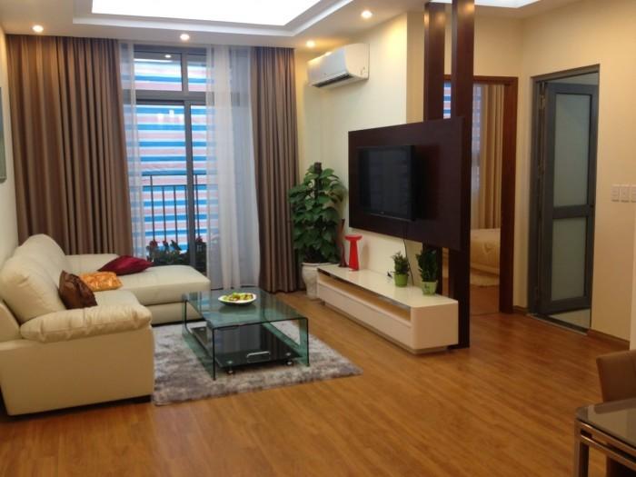Chung cư Mini Hồ Tùng Mậu- Mai Dịch, 600tr/căn, Ck 2%, Full nội thất