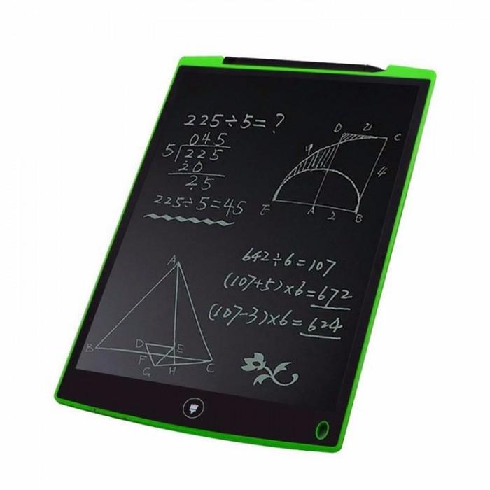 Bảng điện tử thông minh có bề mặt là một tấm nền LCD , được phủ một lớp sơn tỉnh điện màu đen tạo cảm giác quen thuộc như một tấm bảng thông thường.