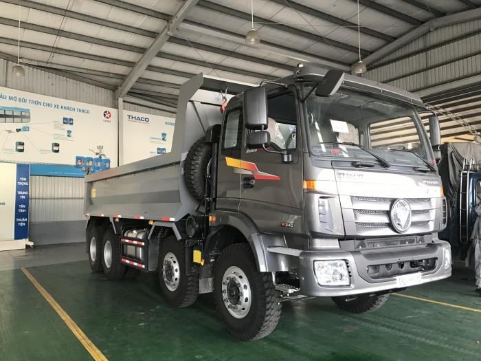 Xe tải ben 4 chân 18 tấn Thaco Auman D300B