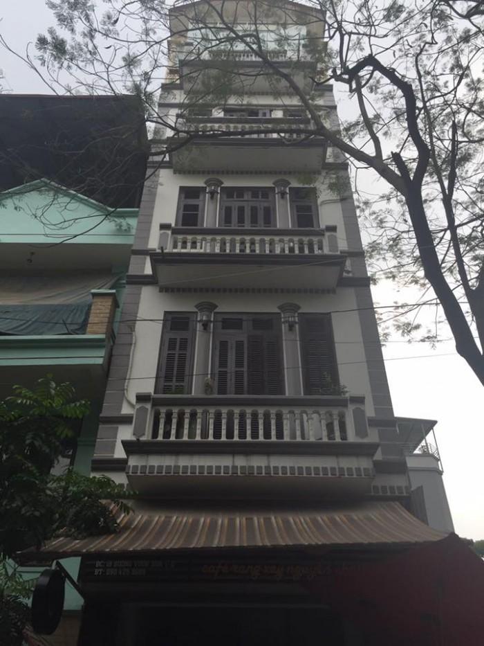 Bán nhà phố VIP Ngọc Khánh DT 40m, 5 Tầng