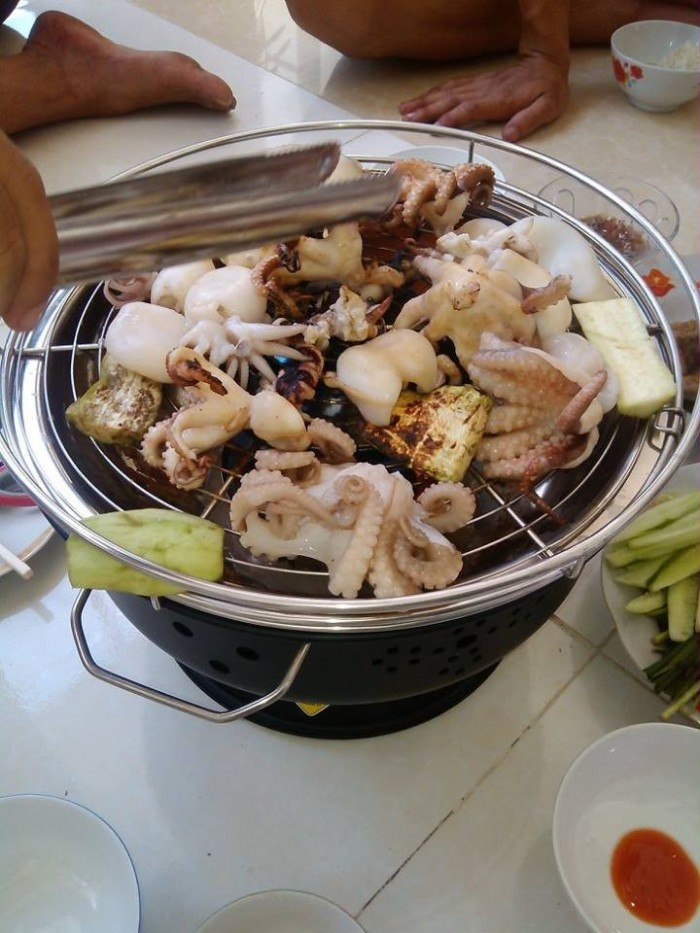 Bếp nướng than hoa, bếp nướng dã ngoại BN3000
