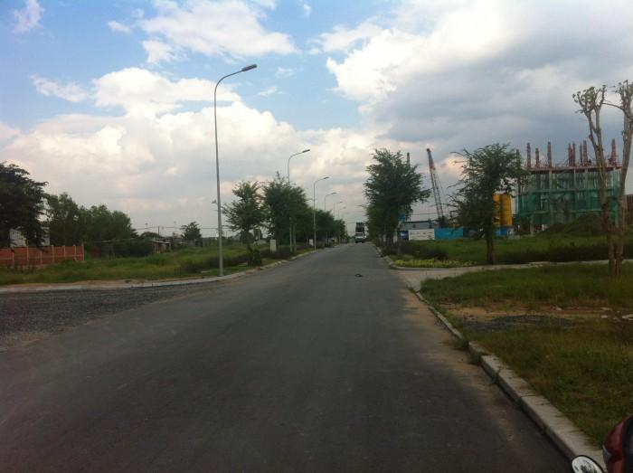 Đất nền Quận 2, KĐT mới 90m2, thổ cư 100%, MT Nguyễn Thị Định, sổ riêng,  góp 6-12 tháng 0%