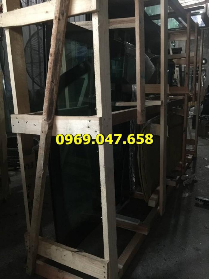 Kính cabin máy xúc Kobelco SK200-3 9