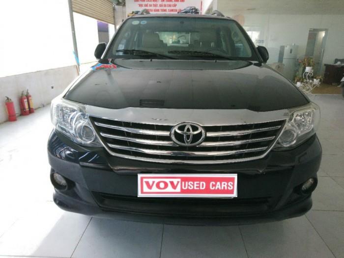 Toyota Fortuner sản xuất năm 2012 Số tự động Động cơ Xăng