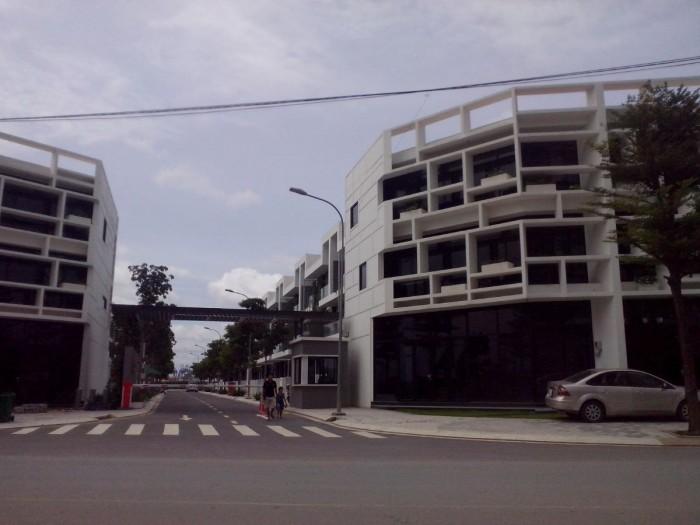 Biệt thự phố CitiBella 2, không gian xanh đẳng cấp, mặt tiền khu đô thị Cát Lái quận 2.