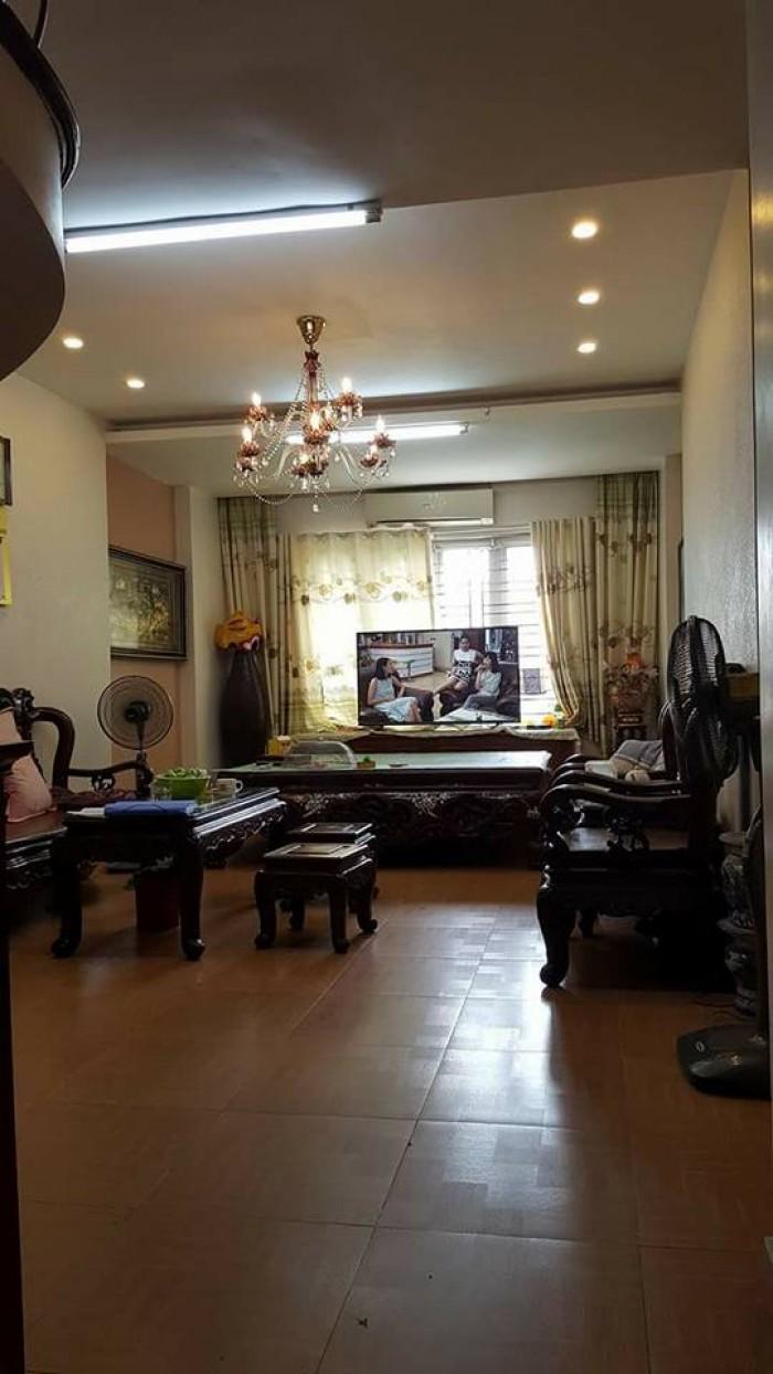 Bán nhà 4 tầng Đặng Thai Mai, dt 53m2, lô góc ô tô tránh