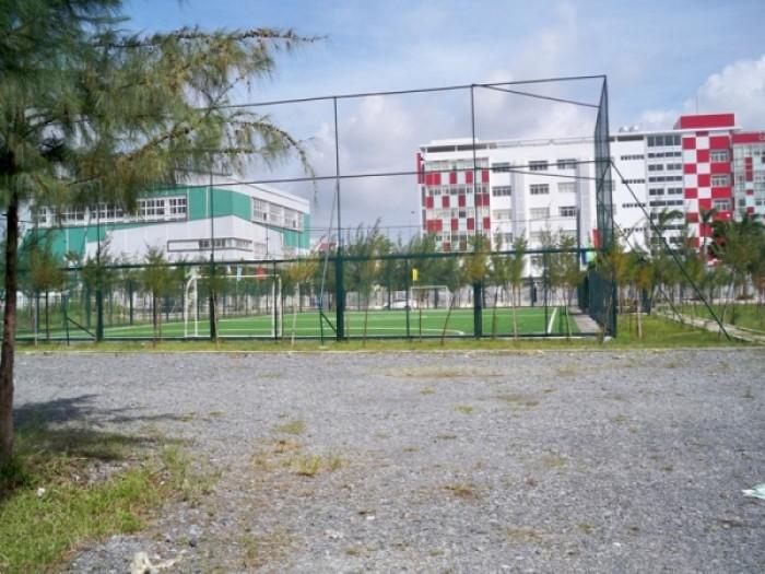 Bán đất nền lô góc 2 mặt tiền 111m2- KDC Greenlife 13C, sổ hồng riêng