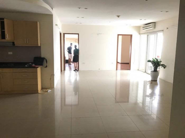 Cần cho thuê chung cư 181 Nguyễn Lương Bằng  DT: 110m2 , Đồ cơ bản