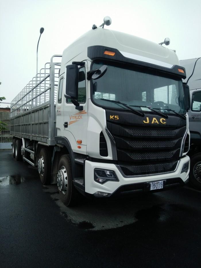 Xe tải thùng Jac-Vtruck 5 chân 0