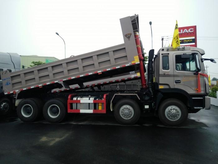 Xe tải ben Jac-Vtruck 4 chân 4
