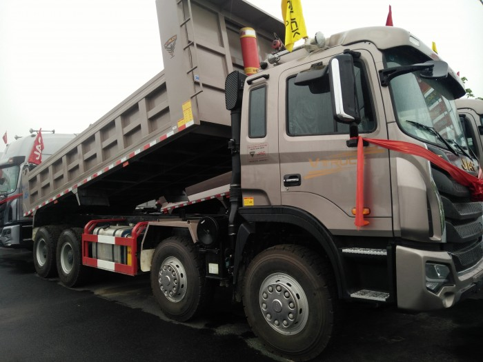 Xe tải ben Jac-Vtruck 4 chân 0