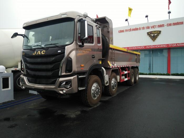 Xe tải ben Jac-Vtruck 4 chân 2