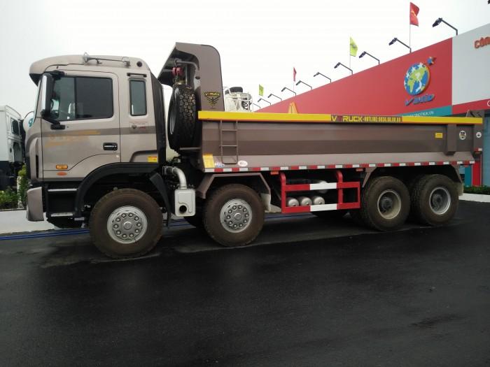 Xe tải ben Jac-Vtruck 4 chân 1