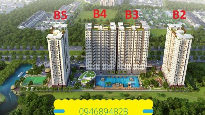 Bán gấp căn hộ The Park Residence, Nguyễn Hữu Thọ 74m2 2PN, 2WC