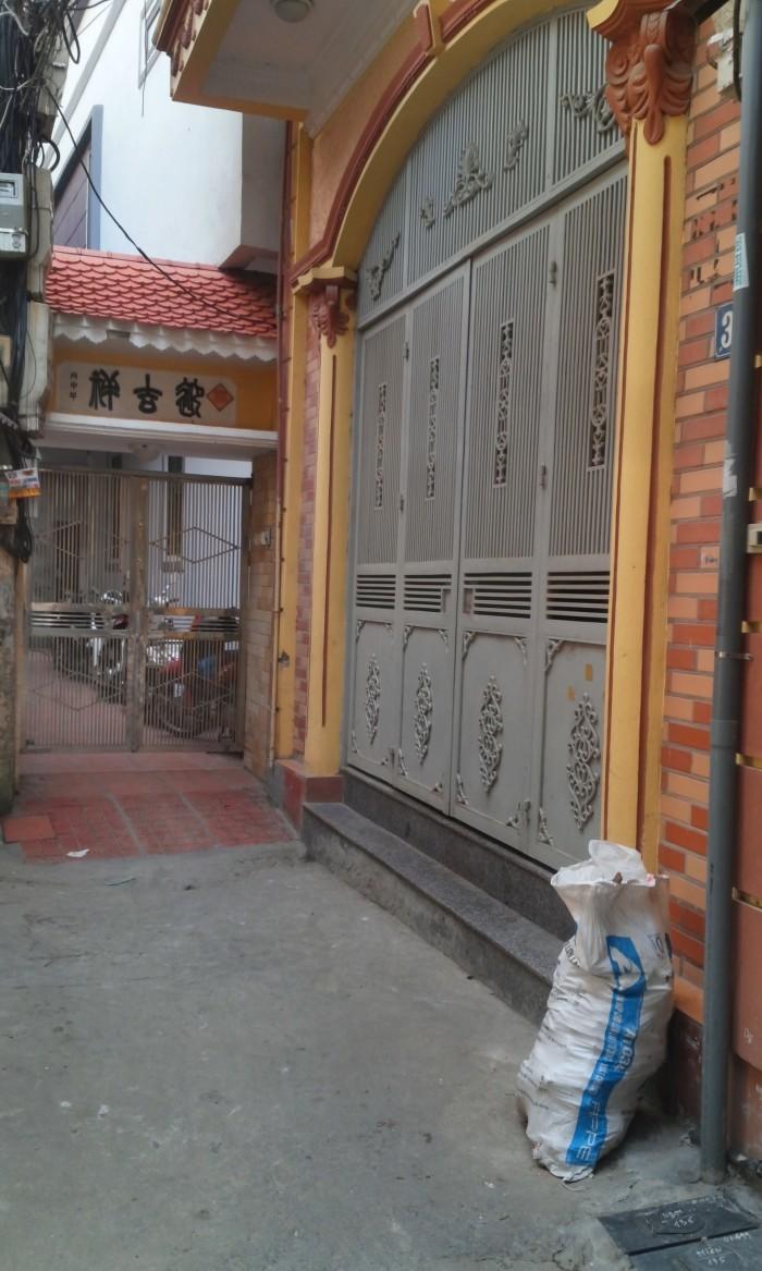 Bán nhà Trương Định Hoàng Mai 50m, 5T, MT 3.5m kinh doanh tốt.