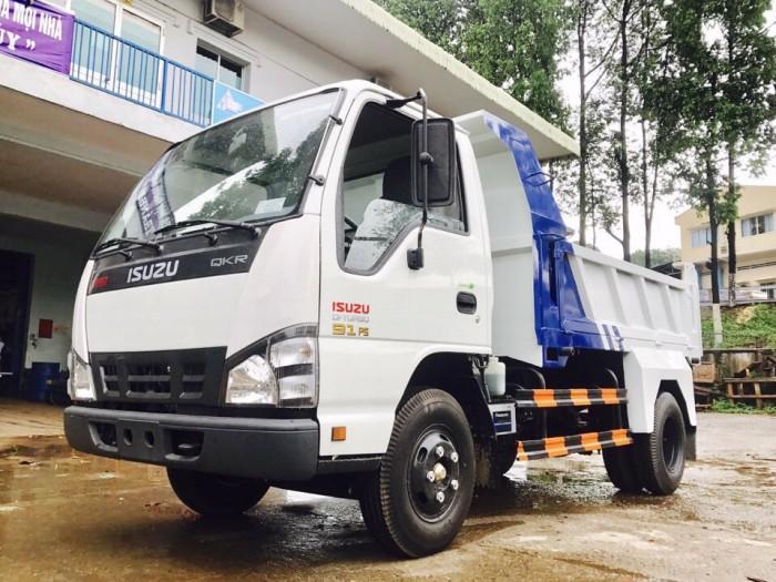 Xe ben isuzu QKR55H tự đổ 2,2 tấn mới sản xuất 2017