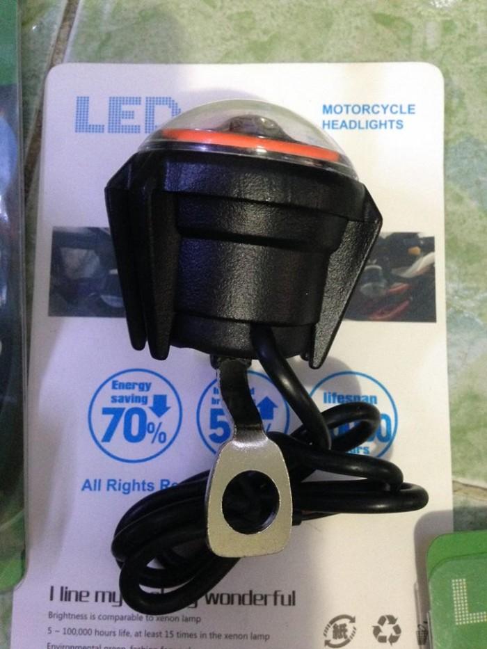 Đèn Led Trợ Sáng U7 Mini Gắn Chân Gương Xe Máy 2017 5