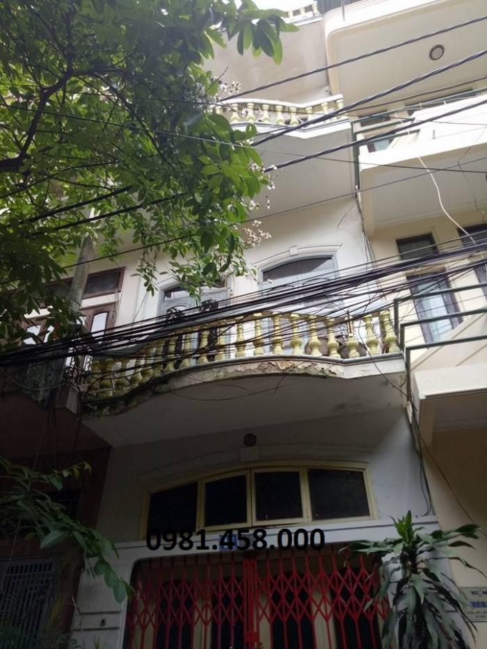 Nhà Huỳnh Thúc Kháng, phân lô ô tô tránh, vỉa hè. 50m
