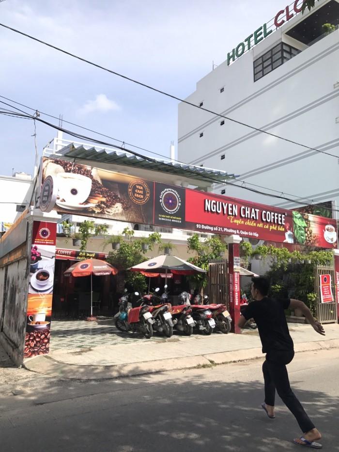 Bán nhà vị trí đẹp mặt tiền đường 21,  phường 8, quận Gò Vấp