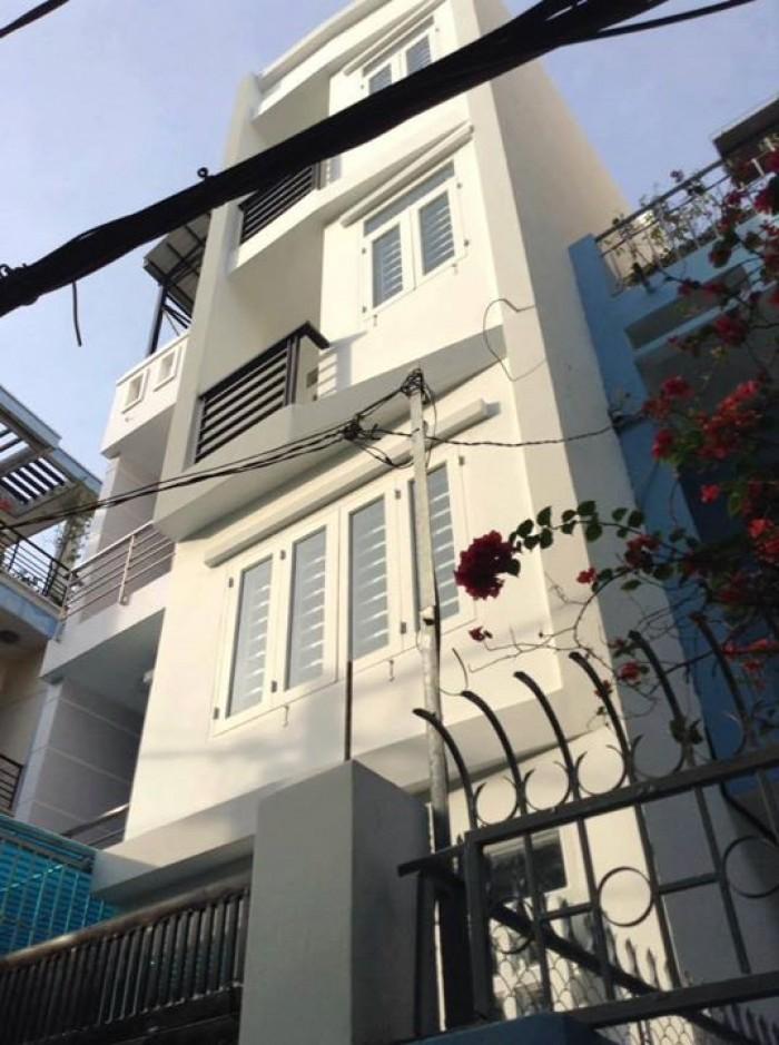 Bán nhà MT đường Lê Thị Riêng, P. Bến Thành, Q.1, 3.5x20m, lửng, 4 lầu