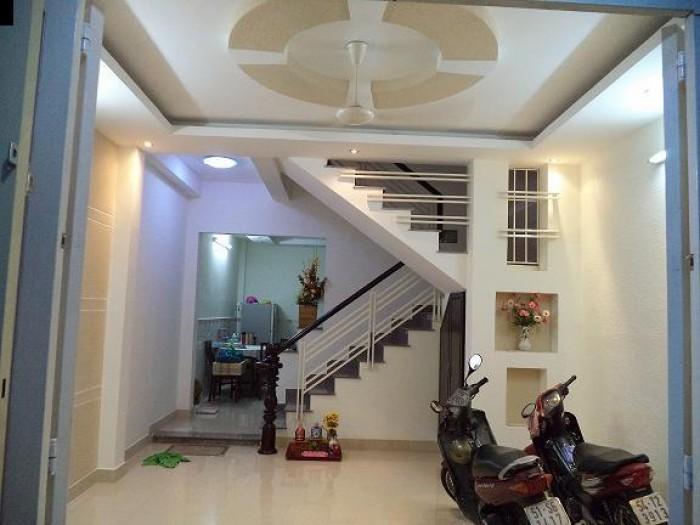 Cần vốn bán gấp nhà căn sau MT đường Hồng Bàng phường 6 quận 6.