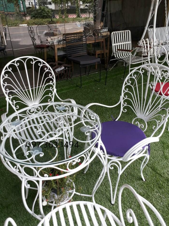 Bàn ghế sân vườn ngoài trời đẹp, giá siu mềm0