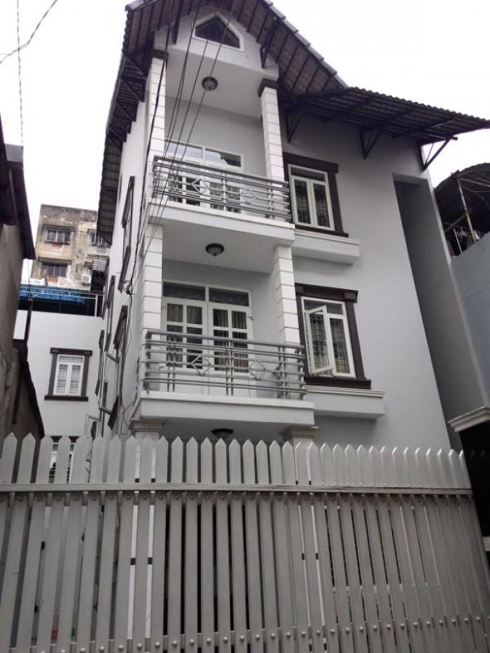 Xuất cảnh nước ngoài bán gấp nhà HT 3.5m Nguyễn Thiện Thuật, P.3, Q.3.