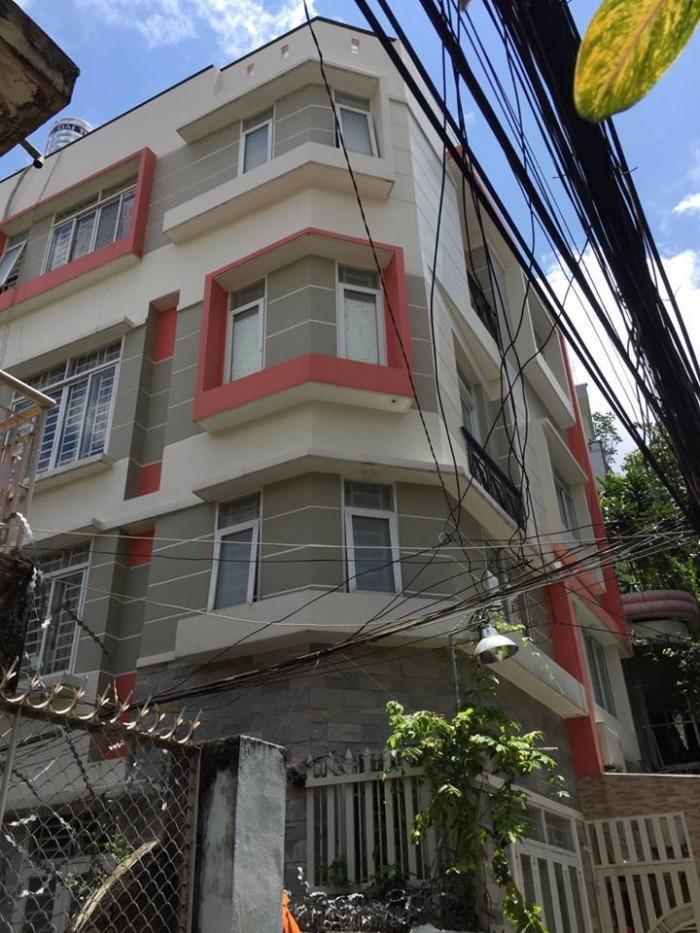 Nhà đẹp 4 tầng, góc 2 MT Bành Văn Trân, Tân Bình, 65m2.