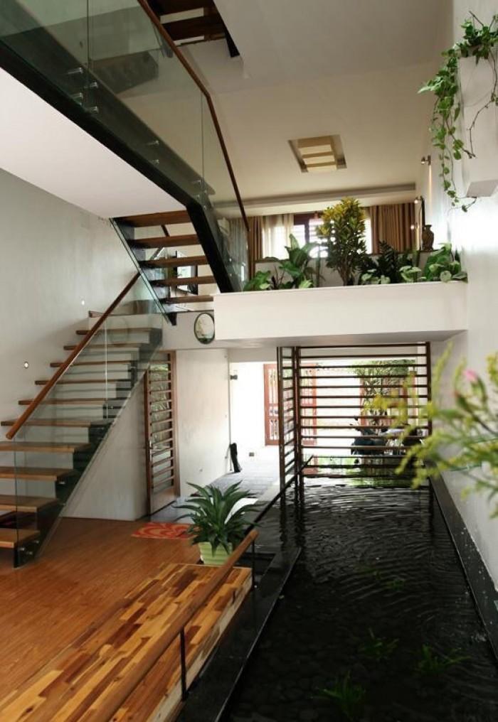 Cần bán nhà đẹp có tiểu cảnh 4 tầng*40m2 gần UBND Văn Quán (4PN)