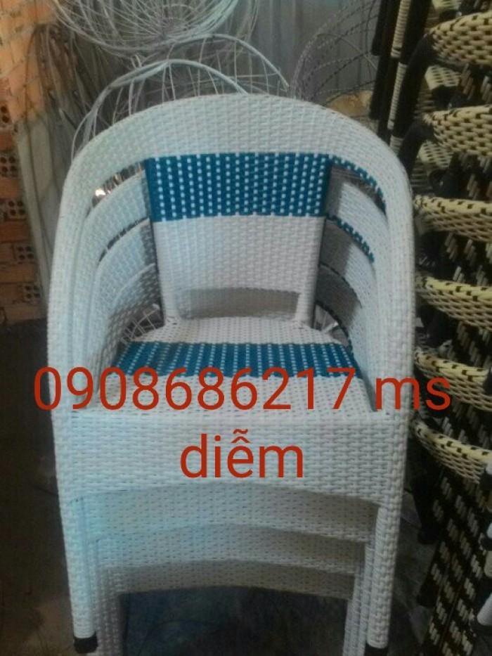 Bàn ghế mây thông dụng gía rẻ1