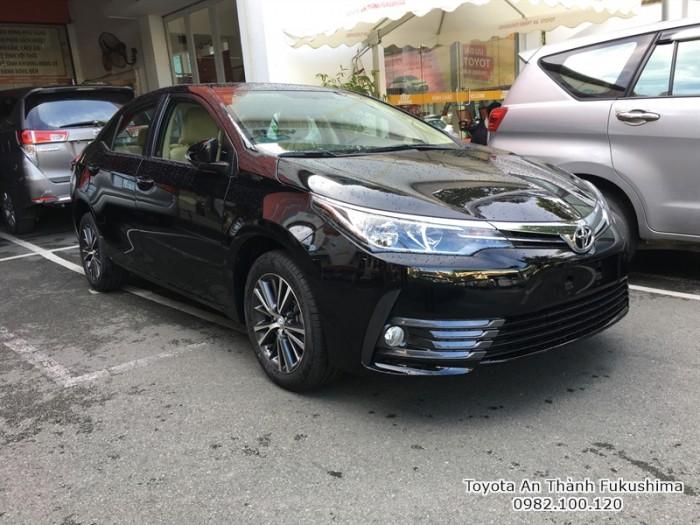 Khuyến Mãi Toyota Altis 2018 1.8 Tự Động Màu Đen Cho Khách Đặt Hàng