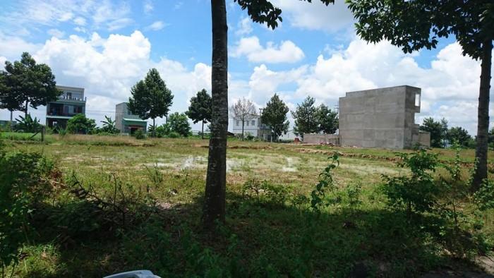 Đất Định Hòa, đường số 15, nhựa rộng 12m, có cây xanh vỉa hè, DT 4.93x27m, thổ cư 100%, dân cư đông