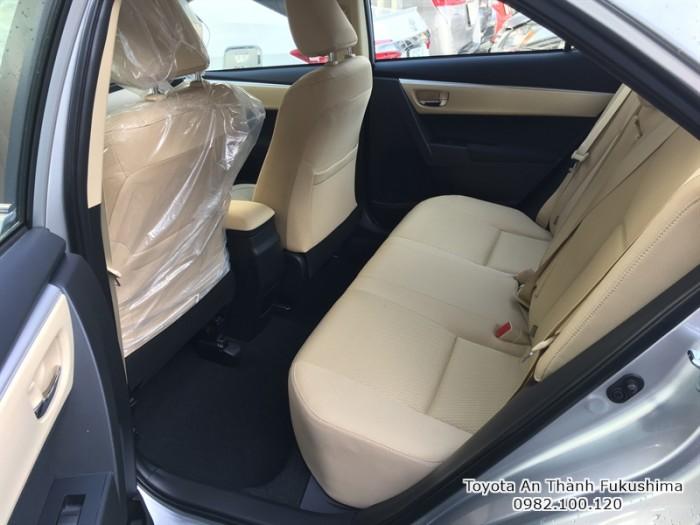 Khuyến Mãi Toyota Altis 2018 1.8 Màu Bạc Ghế Nỉ, Mua Góp 120Tr