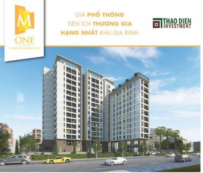 Bán căn hộ M-One Gò Vấp diện tích 49-90m2.